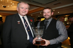 Richard Bawden receives Devon Bowler of the Year Award